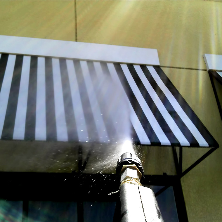 Awning Cleaning | Shade Cleaning | Walker Services
