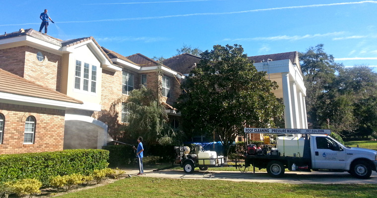 Roof Washing Orlando